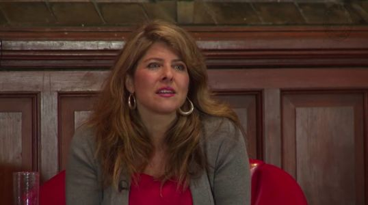 Naomi Wolf Realizes Her New Book Contains Massive Errors During BBC Interview Promoting it