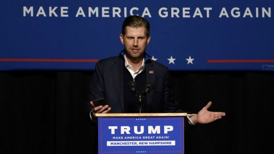 LIVE: Eric Trump makes campaign stop in Michigan