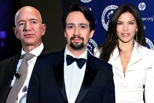 Jeff Bezos used Lin-Manuel Miranda to spend time with Lauren Sanchez