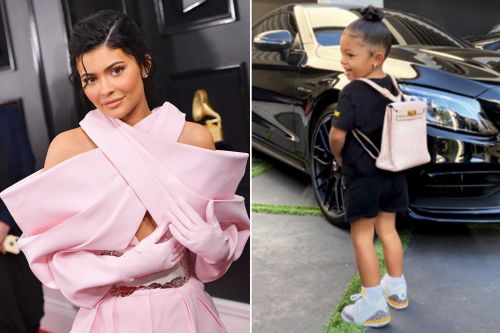Kylie Jenner's daughter Stormi, 2, goes back to school with $12K backpack