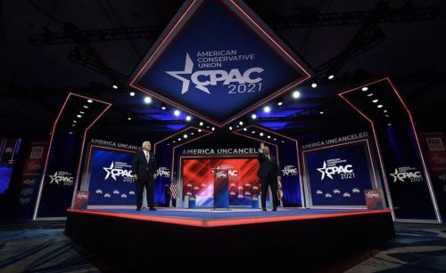 Matt Schlapp Denies Accusations That CPAC Stage Was Designed to Evoke Nazi Symbolism