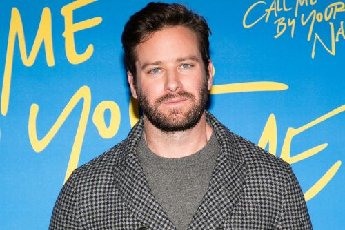 Armie Hammer says his handlebar mustache is 'part hairy biker, part 1970s pervert'