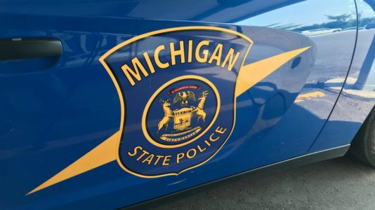 MSP seeks car after shots fired at semi