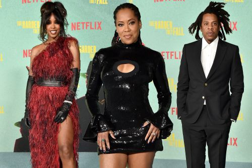 From Regina King to Jay-Z: Stars show out for 'The Harder They Fall' premiere