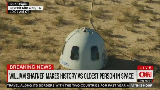 Cable News Ratings Wednesday, October 13: CNN Lifted by Shatner Launch, But Falls Short of Breaking 1 Million Viewers