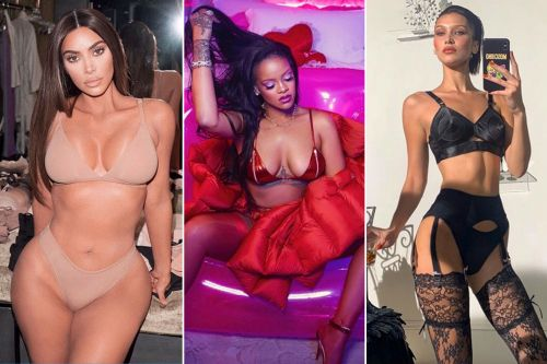 Sexy Valentine's Day lingerie finds from your favorite celebrities