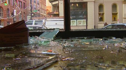 Scope of damage slows police reports for riot damage