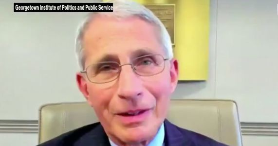 Fauci Implores Americans to Trust 'Respected Medical Authorities Who Have a Track Record of Telling the Truth' for Covid Info