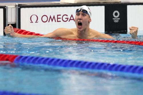 Swimmer Chase Kalisz wins first US medal of the Tokyo Olympics