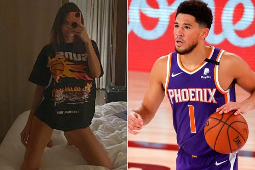 Kendall Jenner models Suns shirt as boyfriend Devin Booker receives All-Star bid