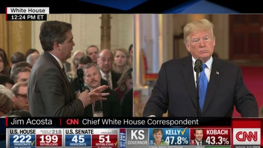 Trump Rips 'Grandstander' Jim Acosta in Reaction to CNN Lawsuit: Guys Like Him 'Bad for the Country'