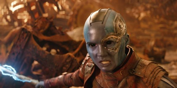 Marvel's Karen Gillan Has A Unique Way Of Returning Back To Normal After Filming As Nebula