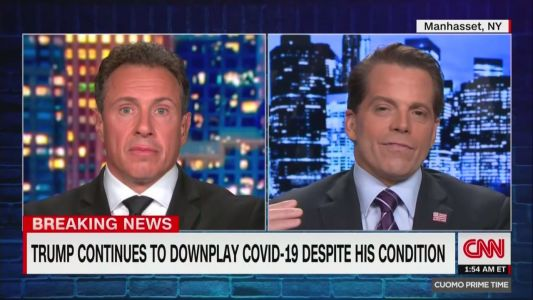Chris Cuomo Opened His Show Last Night By Railing Against 'Bullsh*t.' A Few Minutes Later, He Welcomed Anthony Scaramucci
