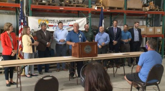 Governor Reynolds Disregards Her Own COVID-19 Guidance at Tuesday Bill Signing Event