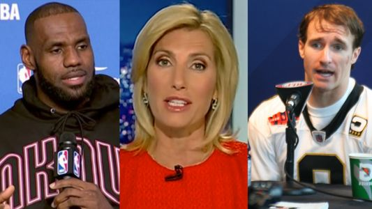 LeBron James Leads Parade of Sports Figures Calling Out Laura Ingraham For Hypocrisy in Supporting Drew Brees