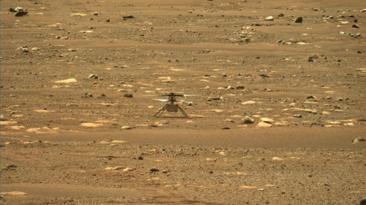 NASA's Mars helicopter makes history-making first flight