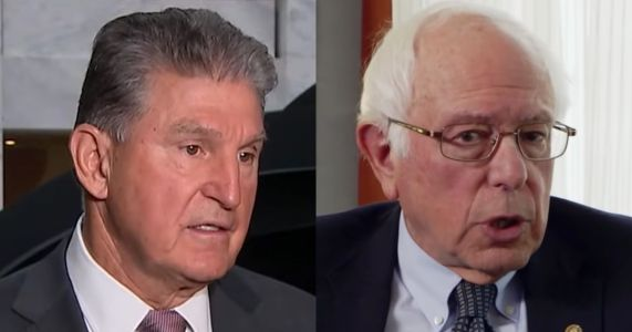 Sanders Calls Out Manchin in WV Newspaper; Manchin Fires Back: 'Out-of-Stater' Telling West Virginians 'What Is Best for Them'