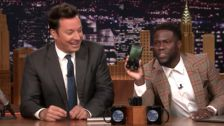 Dwayne 'The Rock' Johnson Kicks His Feud With Kevin Hart Up A Notch On 'The Tonight Show'