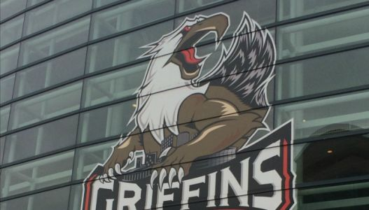 Griffins beat the Icehogs in home opener