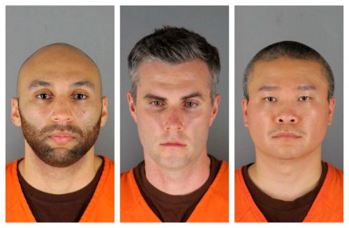 Judge: $750K bail for 3 ex-officers accused in Floyd's death