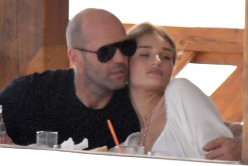 Jason Statham and Rosie Huntington-Whitely snuggle up and more star snaps