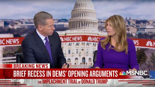 MSNBC and Fox News Duke It Out Over Ratings Supremacy in Impeachment Trial Coverage Thursday
