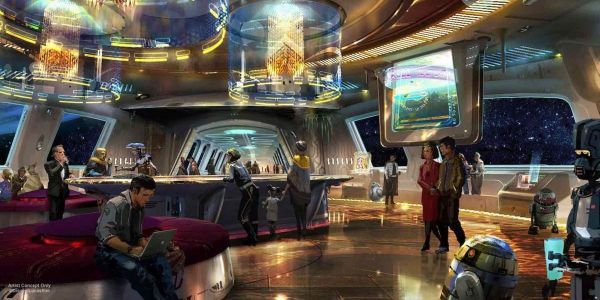 Walt Disney World's Star Wars Galactic Starcruiser Hotel Reveals Story Details And 'On Ship' Activities