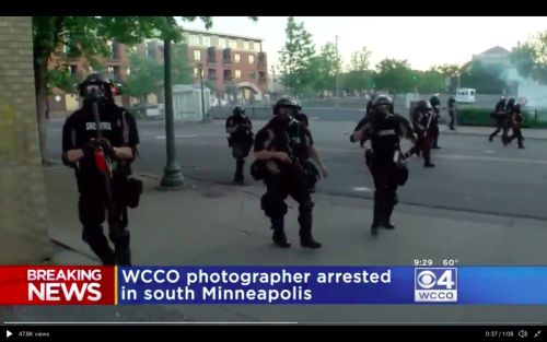 Minneapolis Photojournalist Shot With Rubber Bullet, Arrested While Covering George Floyd Protests
