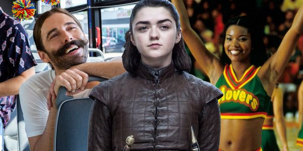 Gabrielle Union & Queer Eye Star Recreate Bring It On Cheer for Game of Thrones Recap