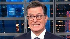 Colbert Has A Savage Response To Sarah Huckabee Sanders' Latest Defense Of Trump