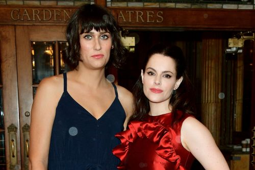 Emily Hampshire and Teddy Geiger get engaged
