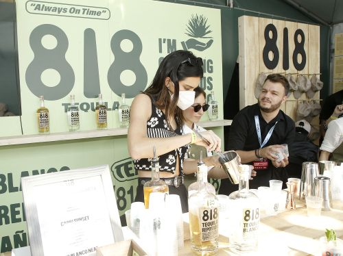 Kendall Jenner pounds the pavement flogging 818 tequila around NYC