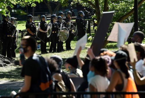 Tear Gas Canisters Found Outside White House, in Continued Debunking of Claims No Tear Gas Was Used