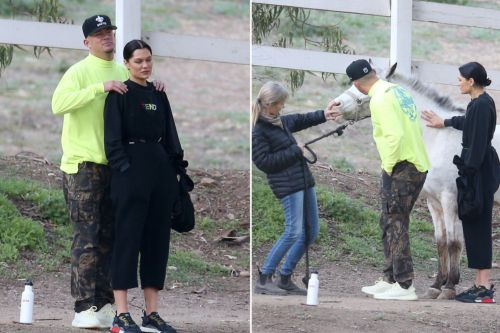 Channing Tatum and Jessie J spotted horsing around after reconciliation reports