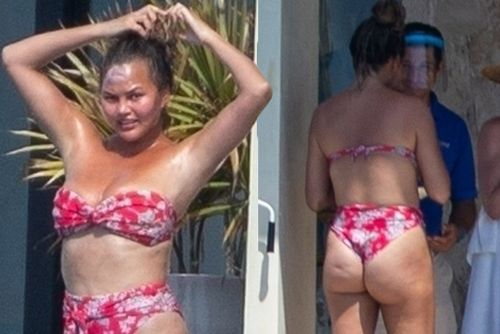 Chrissy Teigen hits Mexico in a bikini and more star snaps