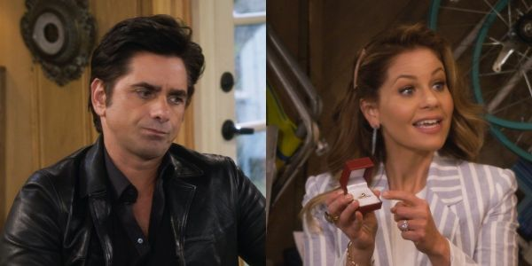 Full House's Candace Cameron Bure Had A Wonderful Exchange With John Stamos About Never Aging