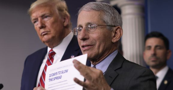 Dr. Fauci Says His Meetings With Trump Have 'Dramatically Decreased'