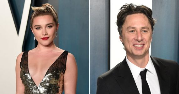 Zach Braff and Florence Pugh's Relationship Can Be Traced Back to a 2019 Short Film