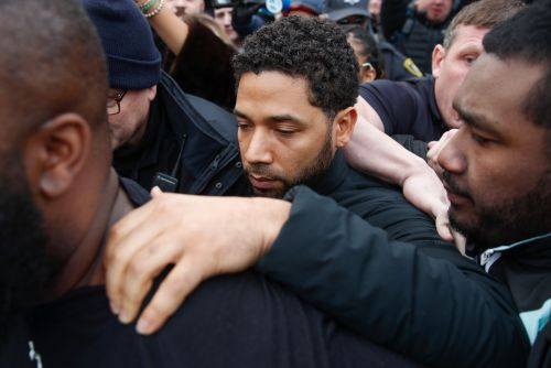 Jussie Smollett released from jail on bond
