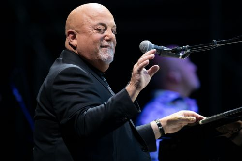 Billy Joel celebrates 100 shows at MSG with Greek food